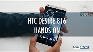 HTC Desire 816 Hands On