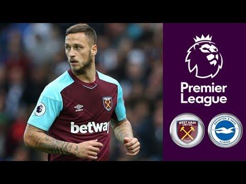 West Ham United vs Brighton & Hove Albion  ᴴᴰ 20.10.2017 - Premier League | FIFA 18