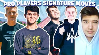 how to do every pro player's signature move in fortnite (mongraal classic, tfue classic, etc.)