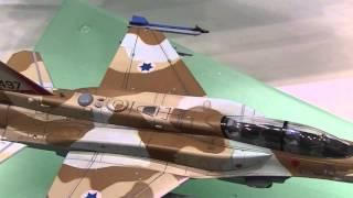 """F-16I ファイティング ファルコン """"イスラエル軍"""" Israel Air Force F-16I Sufa (Storm):全日本模型ホビーショー2014"""