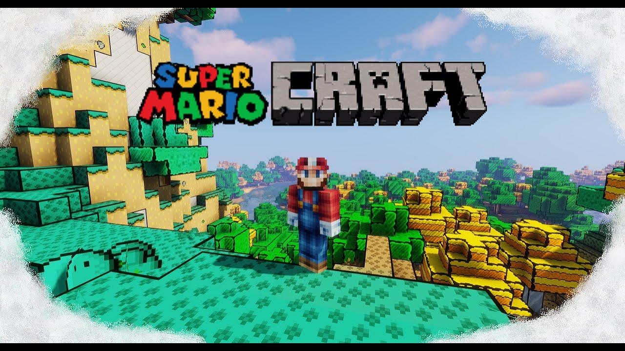 Super Mario Craft Optifine Resource Packs Minecraft Curseforge