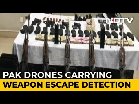 Pak Drones Flew Low, Dropped Weapons In 8 'Sorties' In Punjab: Sources