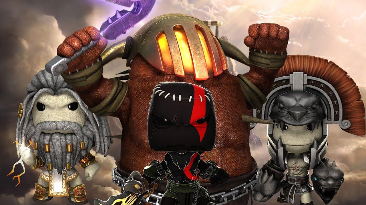 littlebigplanet 3 god of war iii resacked kratos vs