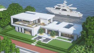【Minecraft】 Modern House TutorialㅣModern City #1