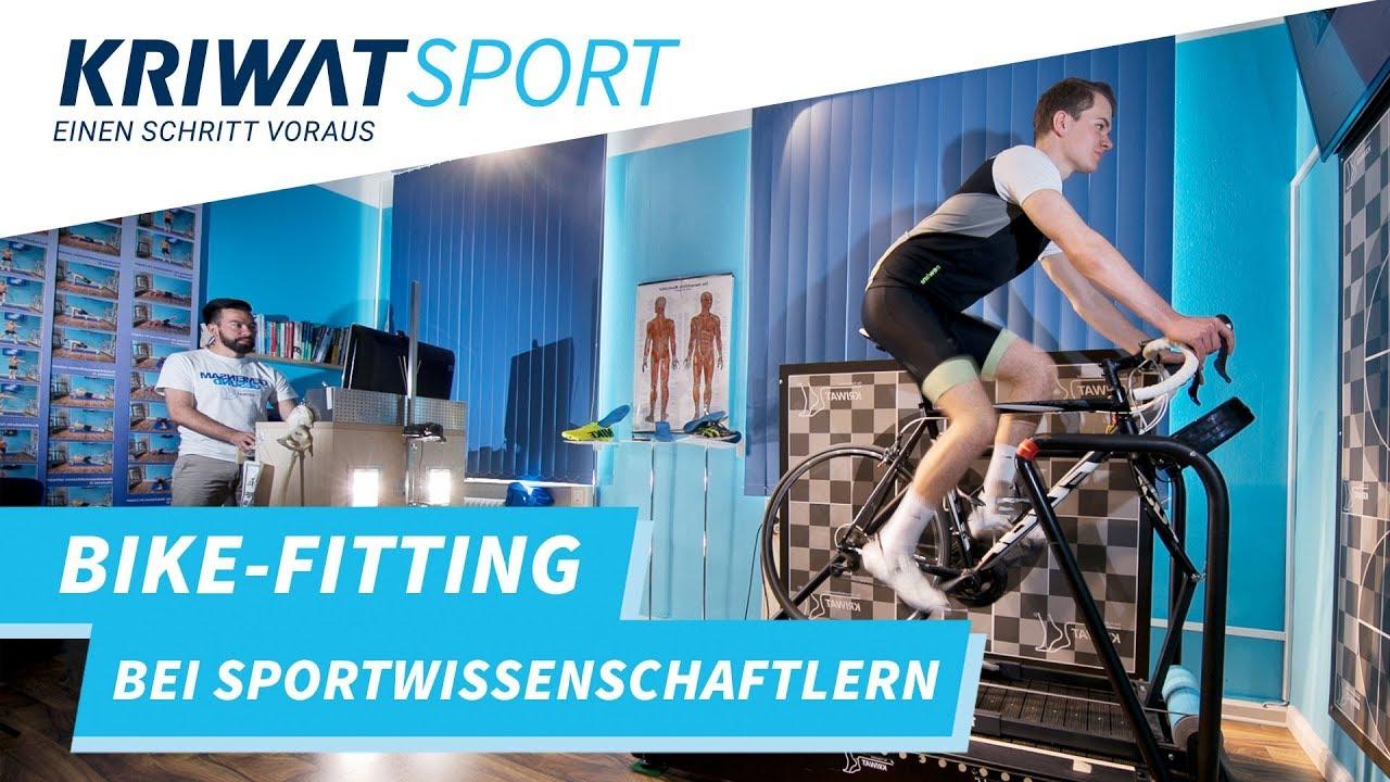 Bike-Fitting bei Kriwat-Sport