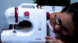Como usar a máquina de costura Bella Elgin