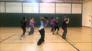 Que Viva La Vida Wisin y Yandel Zumba with Erika - Dance Fitness