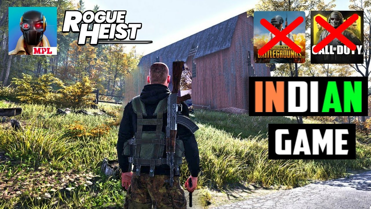 NEW INDIAN GAME | ROGUE HEIST MOBILE (ANDROID) | BETTER THAN PUBGM & CODM