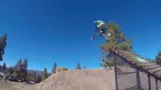 Mountain Biking BIG BEAR (Snow Summit) 2015 w/ music