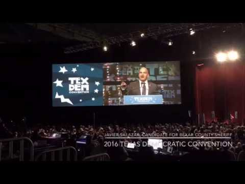 Javier Salazar - 2016 Texas Democratic Convention Speech