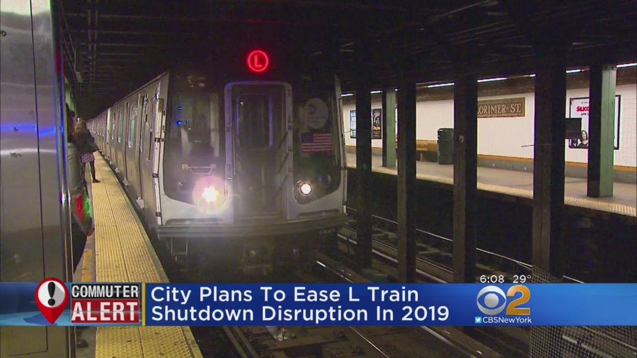 City Plans To Ease L Train Shutdown Disruption In 2019