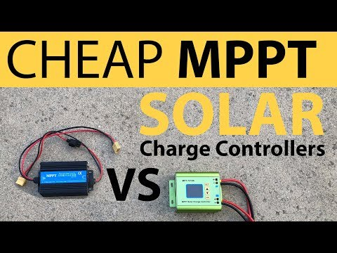 Cheap Boost MPPT SOLAR Charge Controller Efficiency Test