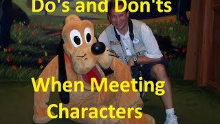 Do's and Don'ts When Meeting Disney Characters- Ep 29 Confessions of a Theme Park Worker