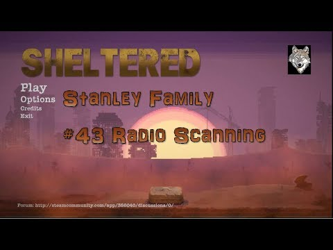 Sheltered Stanley 43 Radio Scanning