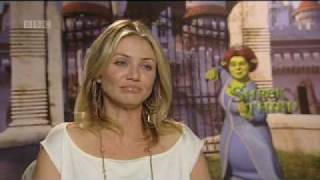 Cameron Diaz interview - Shrek The Third - BBC Movies
