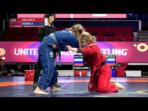 GOLD Women's GP GI - 71 kg: O. KIRILLOVA (RUS) v. A. BABKINA (RUS)