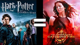 24 Reasons Harry Potter Goblet of Fire & Hunger Games Catching Fire Are The Same Movie