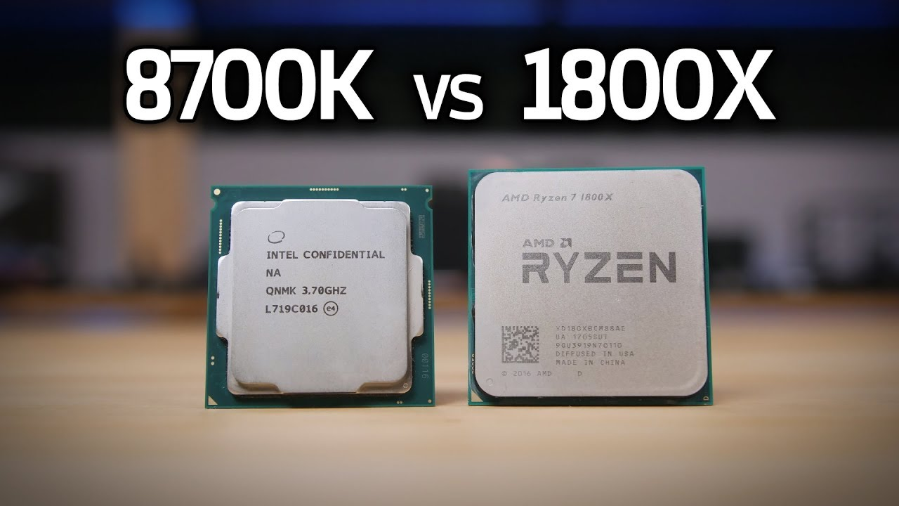 8700K vs 1800X, i5 8400, 1600X & 7700K - COFFEE LAKE GAMING BENCHMARKS!