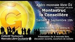 Apéro Monnaie libre  Septembre 2018 à Montastruc-la-conseillère