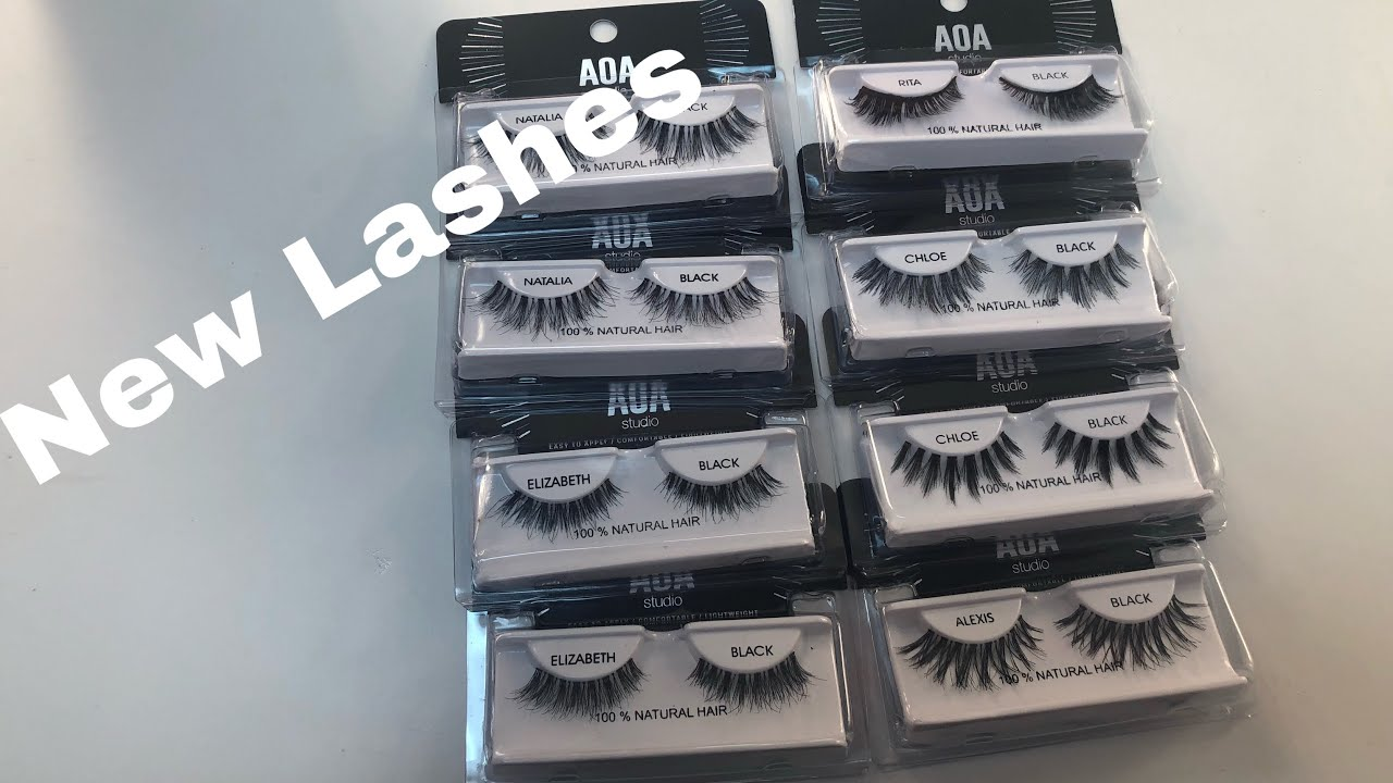 efa9cde6c8b New AOA Lashes ! 😍😭 Shop Miss A Haul ! $1 Makeup - YouTube