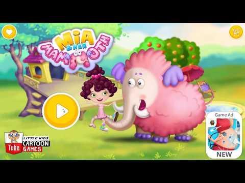 ᴴᴰ ღTake Care of Giant Pet ღ Kids Play Fun Care, Teeth Brush, Garden Games for Children #LITTLEKIDS