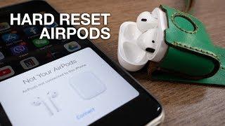 Hard reset Apple Airpods để tặng, bán