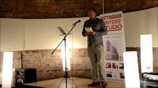 Rory Waterman reads 'Marketplace' by Andrew Taylor at RM The Last Chapter