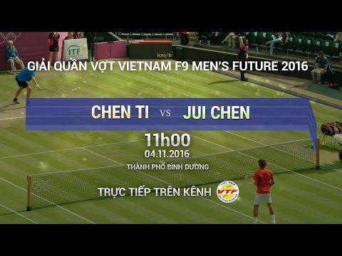 CHEN TI VS JUI CHEN - MEN'S FUTURE 2016 | FULL