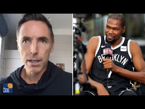 Steve Nash Plans on Playing Kevin Durant at All Five Positions in Brooklyn