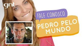 Fale pelo Mundo com Pedro Andrade | #25 | Fale Conosco | Júlia Rabello