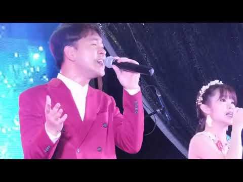 Bukit, panjang 技能创前程歌台秀全场司仪王雷和陈建彬和刘玲玲请来二位歌手李宝恩和谢温👫