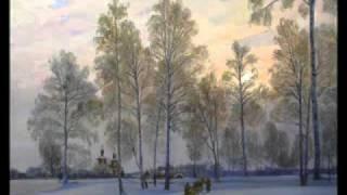 Э. Асадов. Падает снег