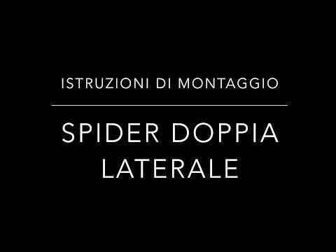Istruzioni di montaggio zanzariere Spider Doppia Laterale