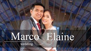 Marco Cabonce and Elaine Agura Mallberry wedding photo slideshow