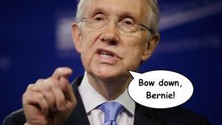 Harry Reid Wants Bernie Sanders to Drop Out of the Race