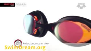 Зеркальные очки для плавания Арена Кобра (обзор)