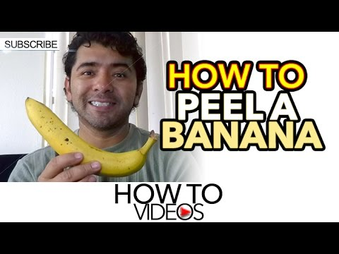 Download how to peel a banana