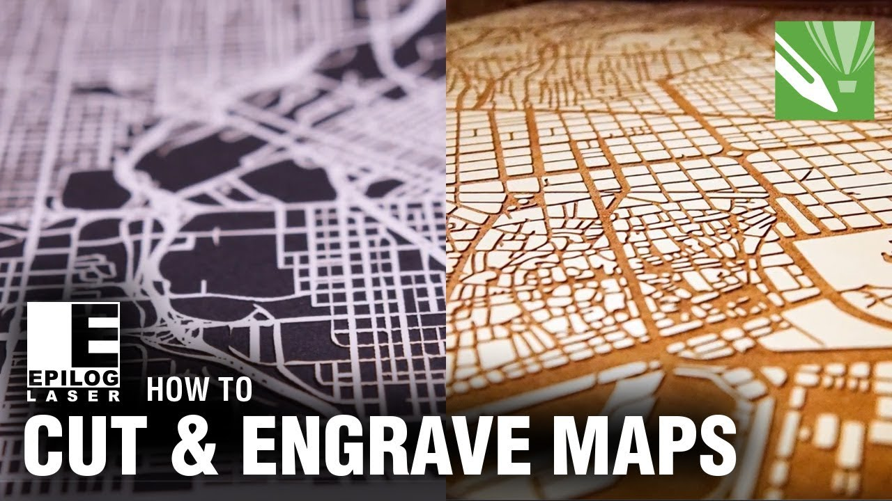 How To: Laser Cut & Engrave City Maps - CorelDRAW