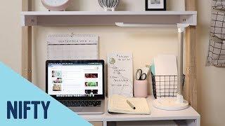 Küçük Bir Alanda Bir Ev Ofis Oluşturmak İçin Nasıl