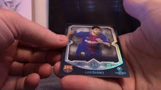 2018 Topps Museum Soccer UEFA Champions League 6 Box 1/2 Case 'Serial #s' GB # 3