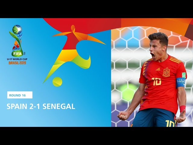 Spain v Senegal Highlights - FIFA U17 World Cup 2019 ™