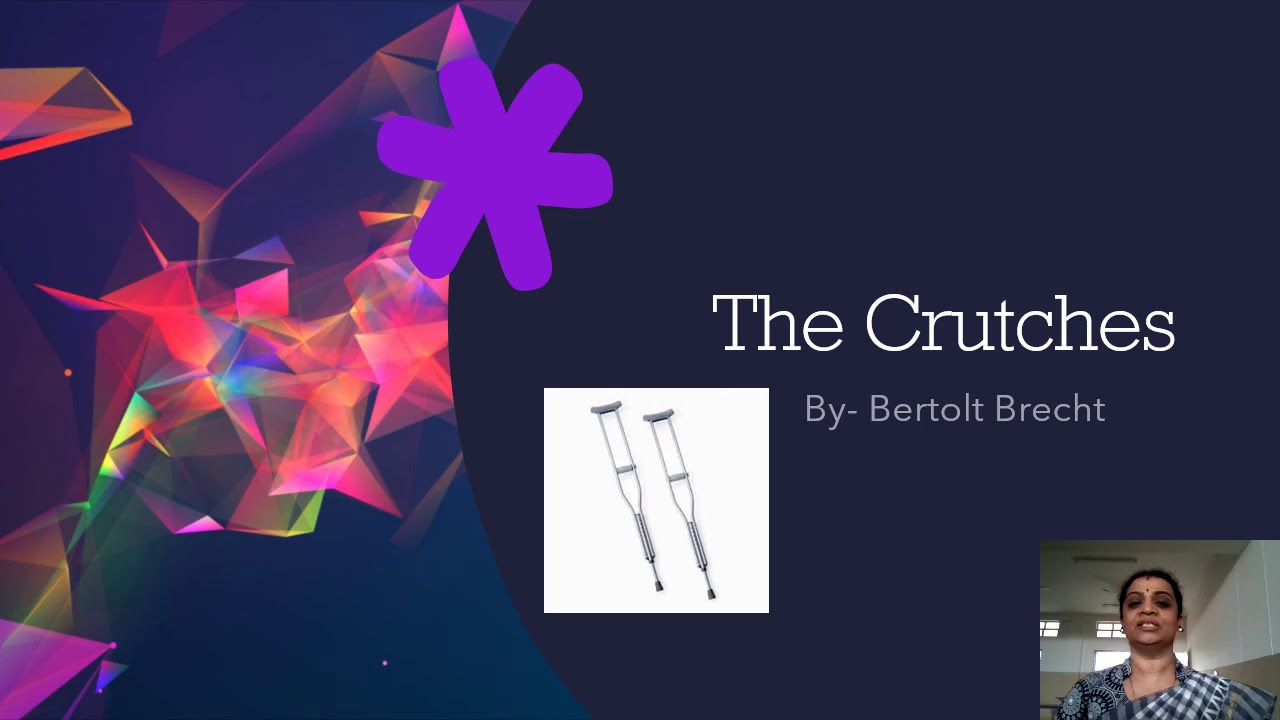 II PUC | ENGLISH | THE CRUTCHES