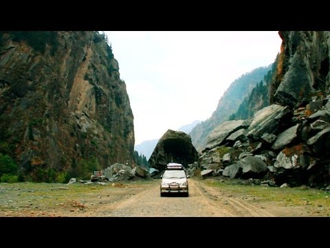 A car trip to Gangotri