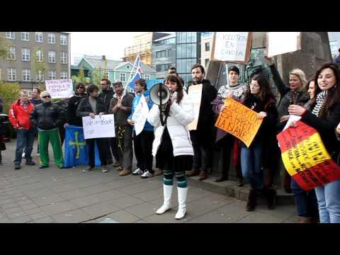 Spanish Revolution in Reykjavik