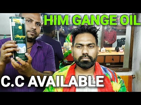 Champissage head massage with indian poppular hair oil (HIMGANGE)