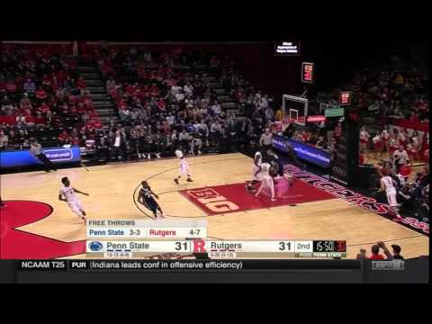 Shep Garner to Donovan Jack Alley-Oop Dunk vs. Rutgers