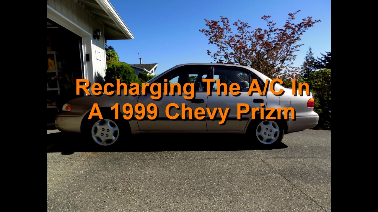 Recharging The Air Conditioning In A 1999 Chevy Prizm
