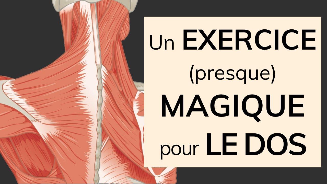 Un exercice (presque) magique pour le dos