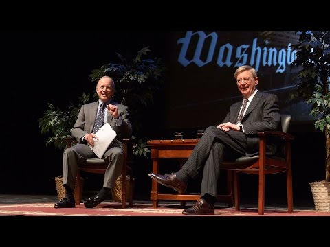 George Will at Purdue University