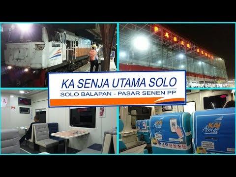Trip Report KA Senja Utama Solo Stainless Steel Pasar Senen - Solo Balapan. Kereta Nyaman Buat Tidur